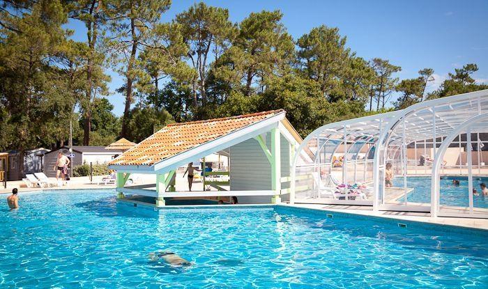 Mobil home d 39 occasion landes 40 rapidhome loft for Camping en pais vasco con piscina